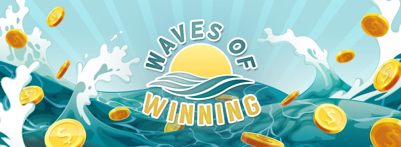 Advertisement for Waves of Winning at Eldorado Scioto Downs