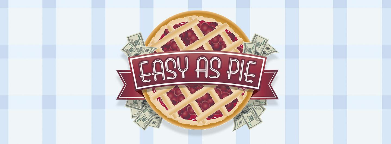 Advertisement for Easy as Pie at Eldorado Scioto Downs
