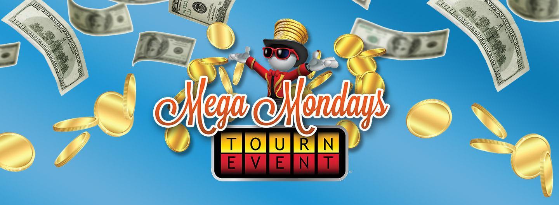 Advertisement for Mega Mondays at Eldorado Gaming Scioto Downs