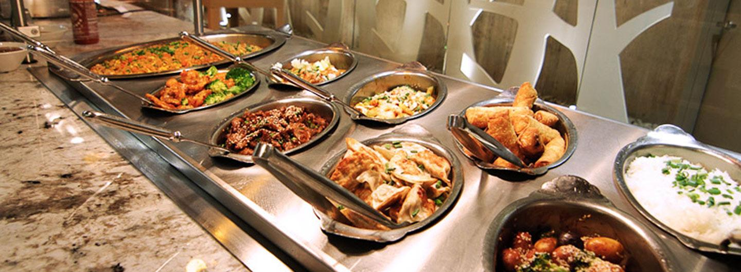 Food at The Grove Buffet