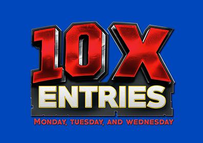 10x entries logo