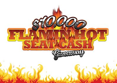 August $10,000 Hot Seat Giveaway