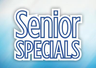 August Senior Specials