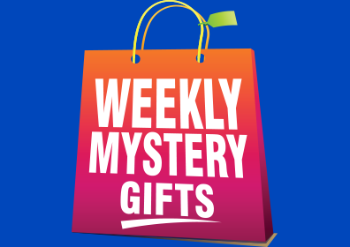 weekly mystery gift logo