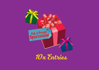pick a present 10x entries