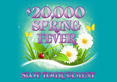 spring fever slot tournament logo