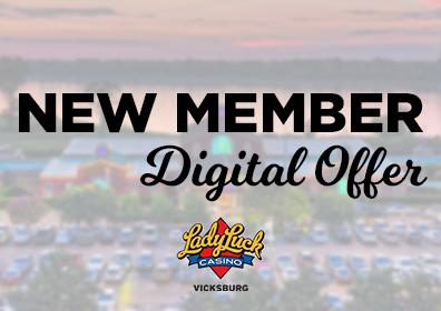 digital offer for new members, $20 fanplay