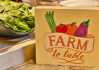 a Farm to table box