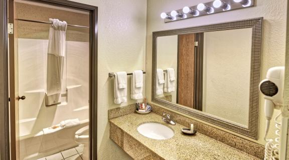 bathroom view of the lavatory