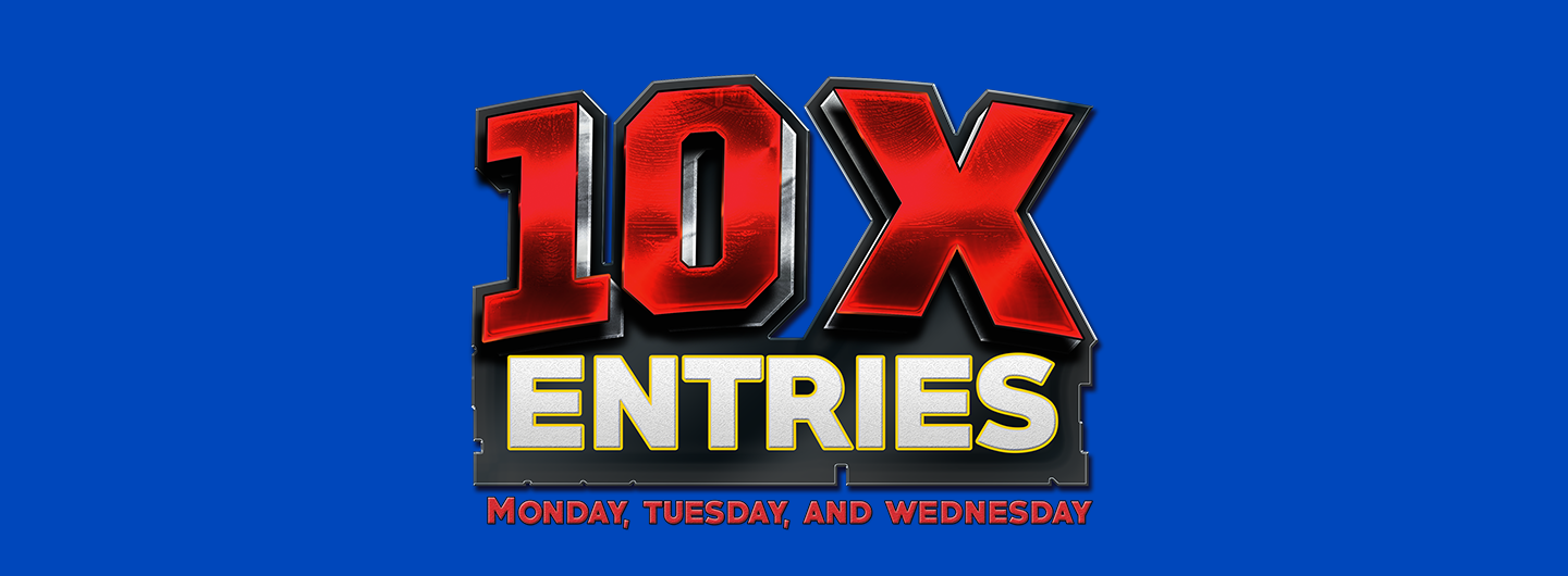 10x entries logo
