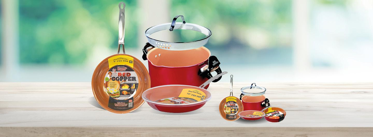 Red Coper Cooking Gifts