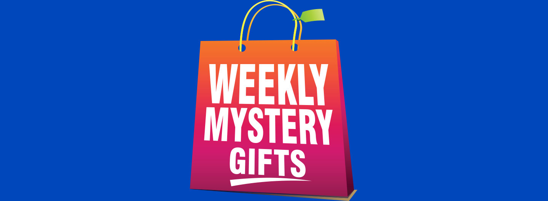 weekly mystery gift logo