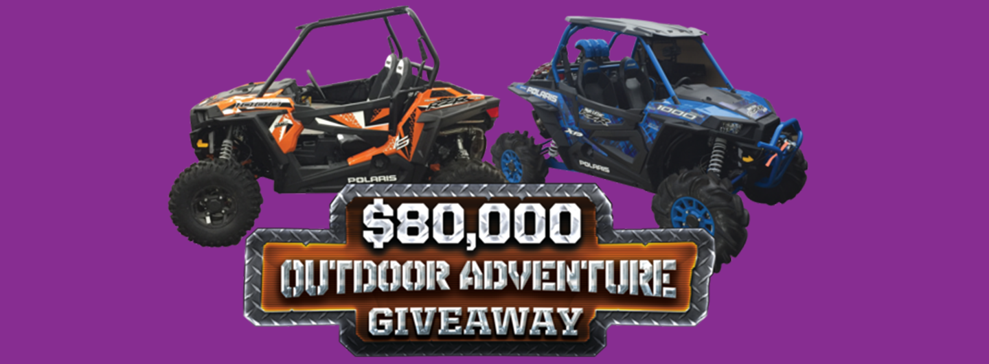 $80,000 outdoor adventure giveaway