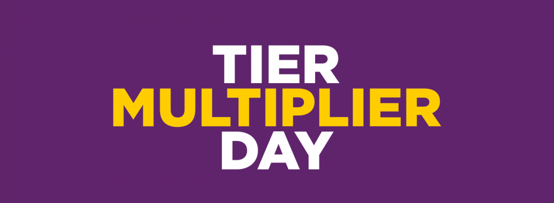 tier multipler day