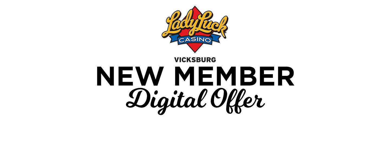 new member digital offer