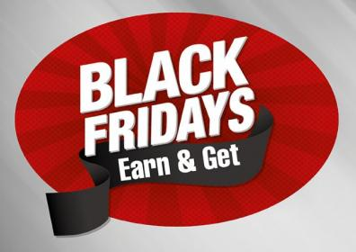 Black Friday Red and Black background