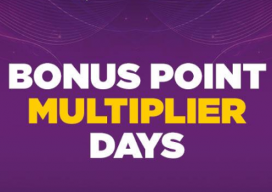 bonus point multiplier day words
