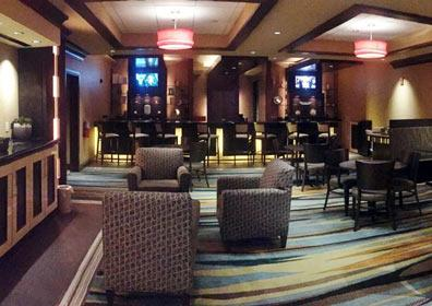 bar & lounge in VIP club capri