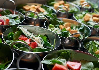 Farmer's Pick Buffet salad bar station