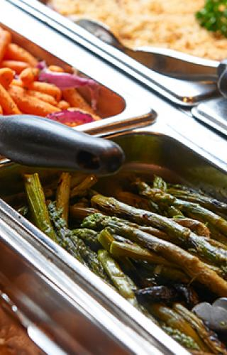 Fresh Vegetables at Farmer's Pick Buffet