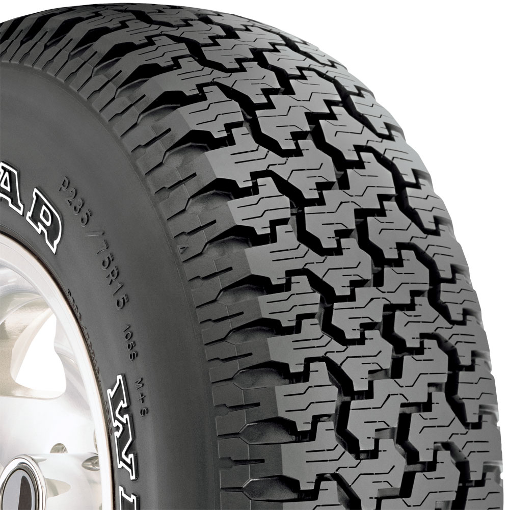 2 New 235//75R15 Goodyear Wrangler Radial all terrain tires 235 75 15 R15 2357515