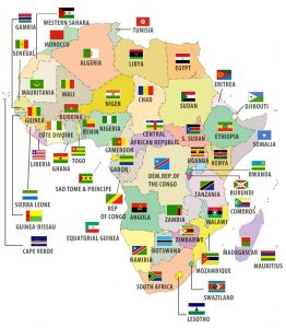African Map, Ebola scare