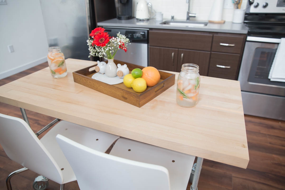 diy modern kitchen table