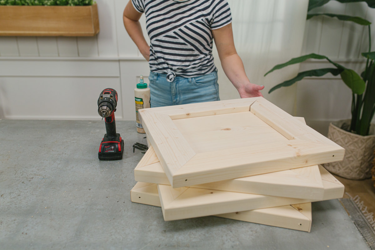 how to make an end table
