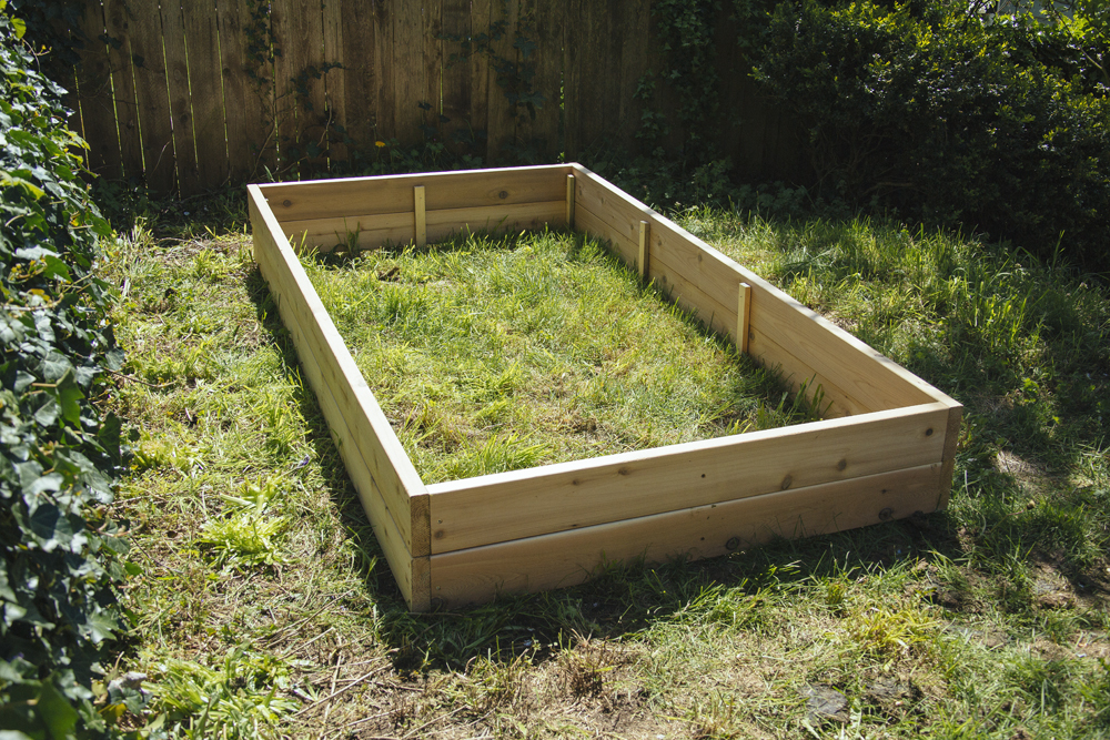build a planter bed at Seattle garden show
