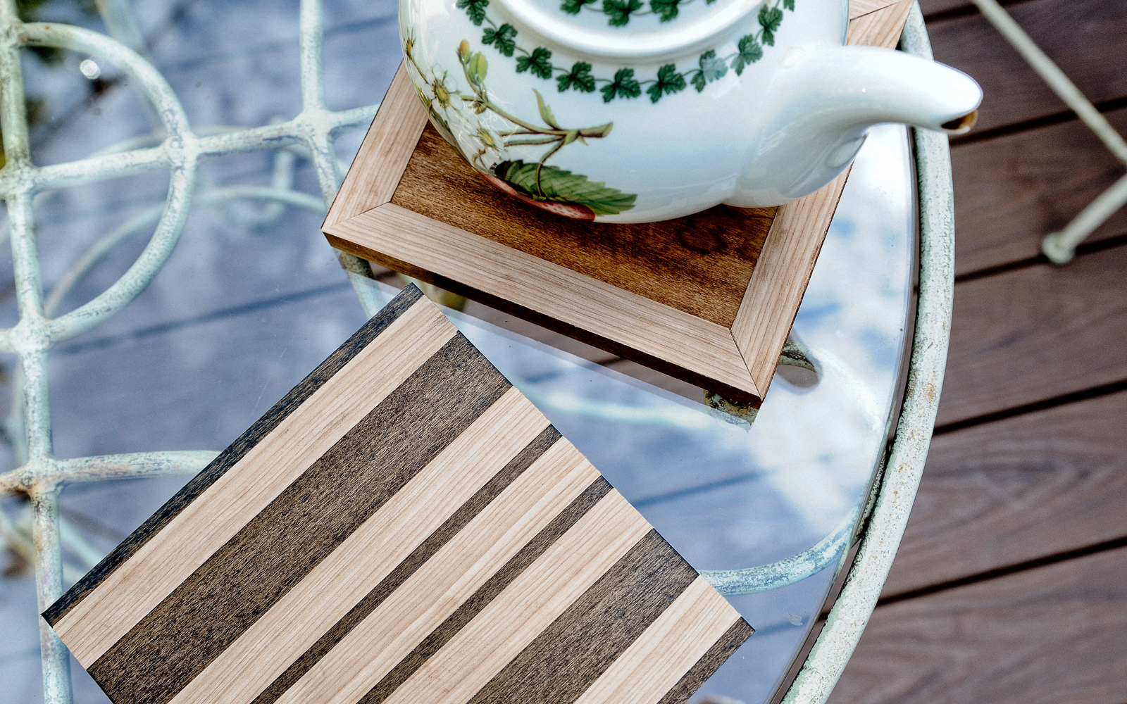 wood trivets diy