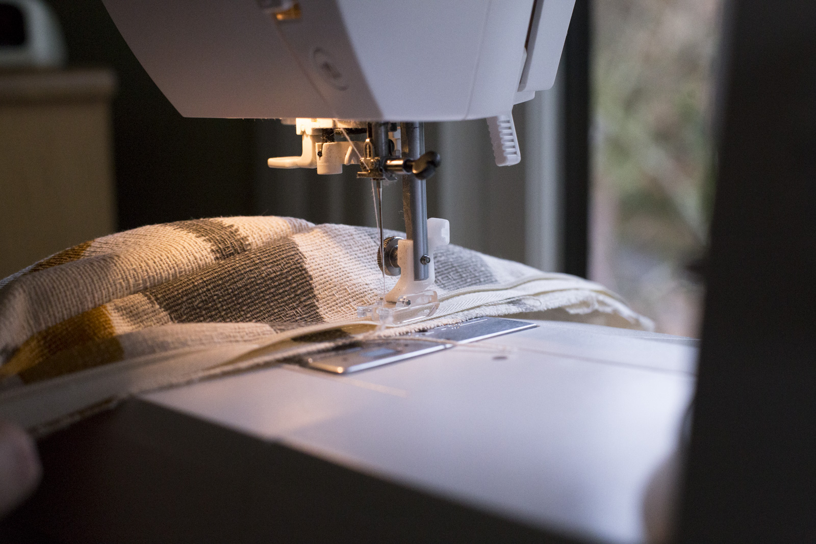 sewing fabric for bench cushion