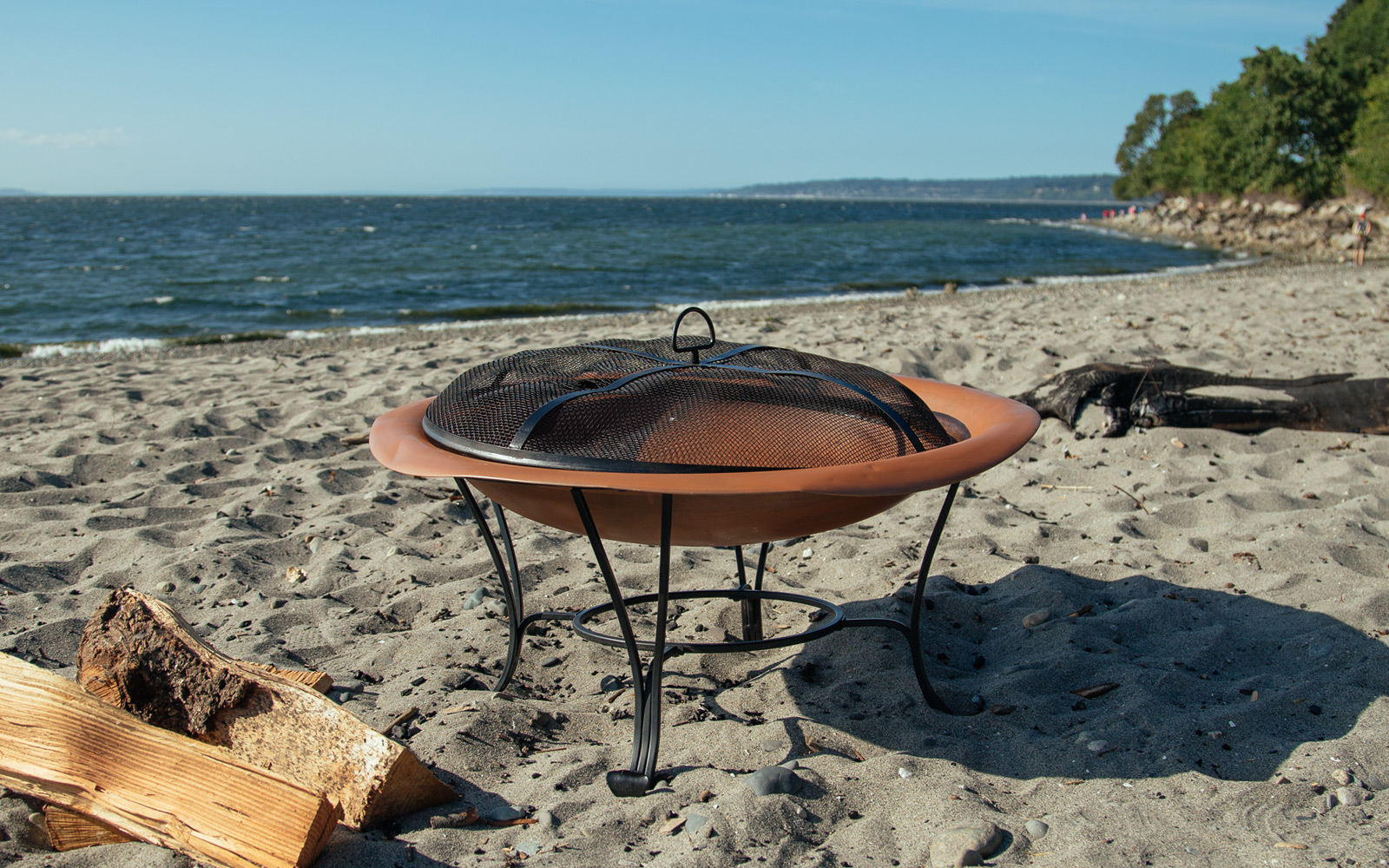 how to refinish a rusty fire pit