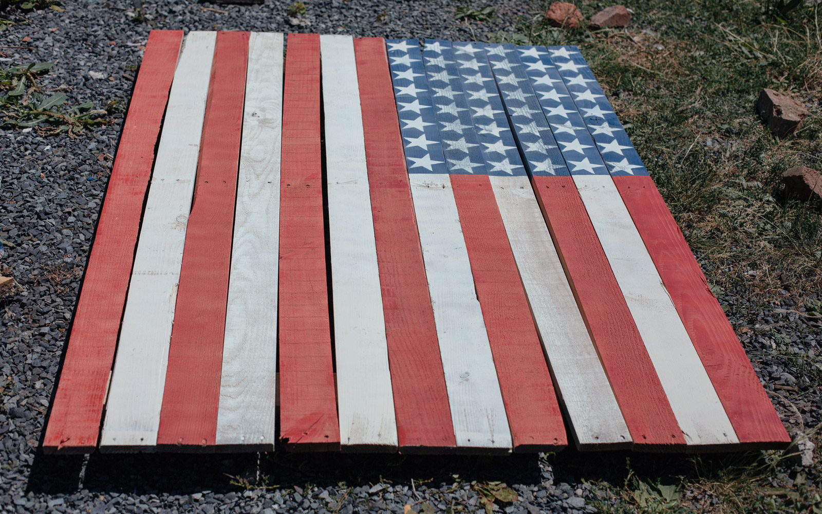 fourth of july pallet
