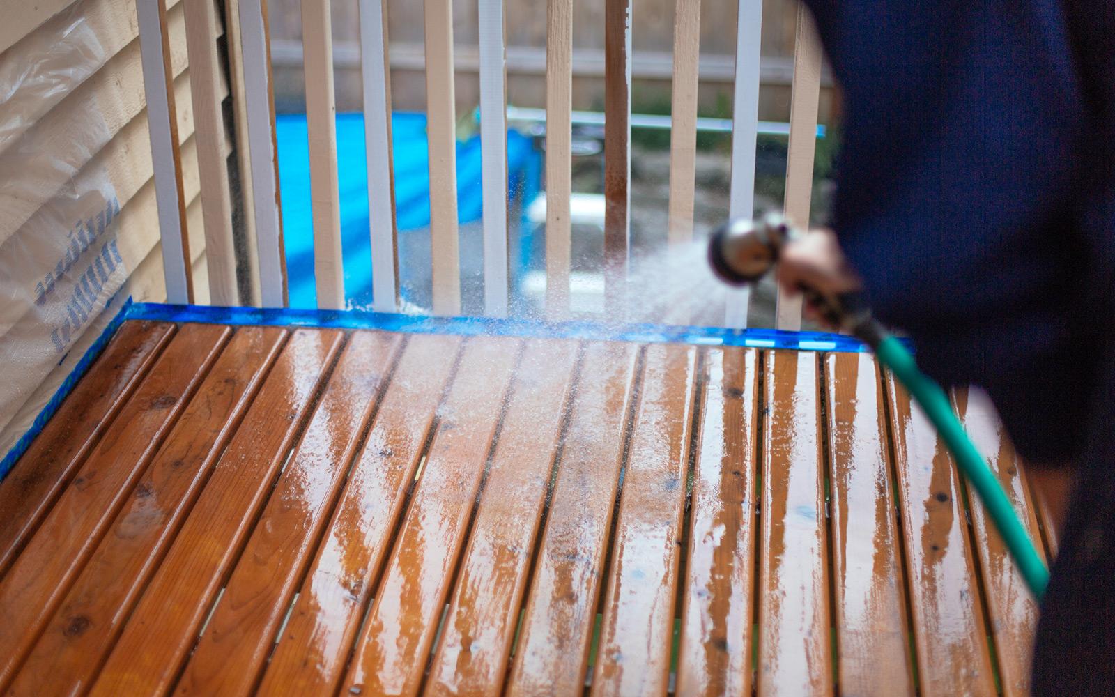 deck rinse