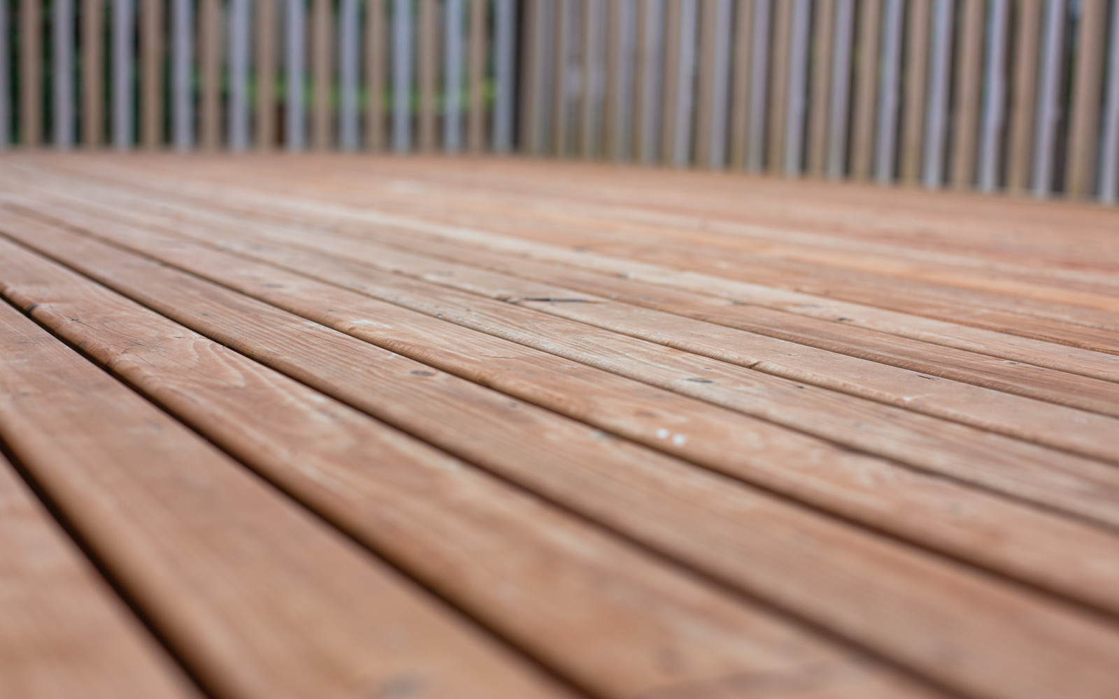 steps to refinish deck