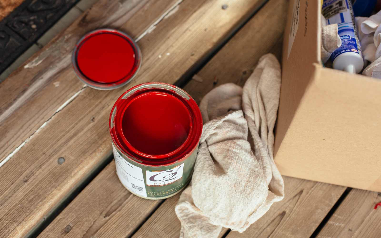 red door paint