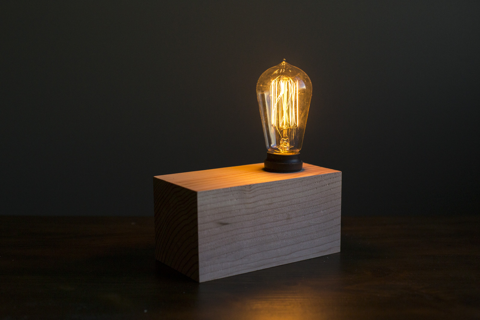 diy edison lamp