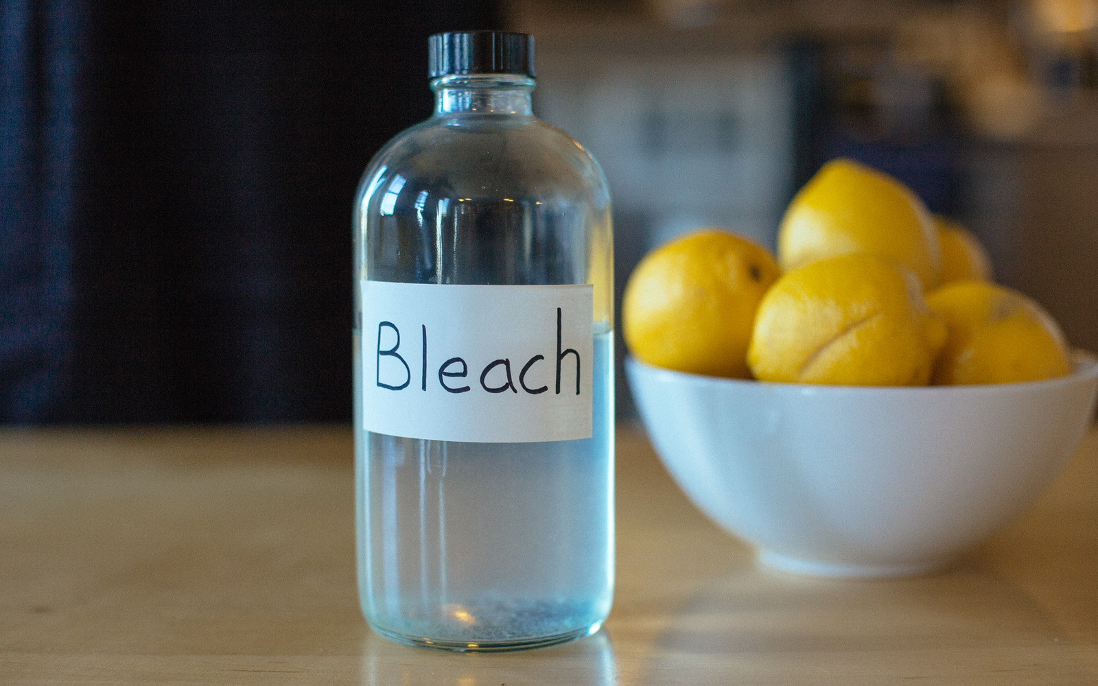 diy bleach cleaner