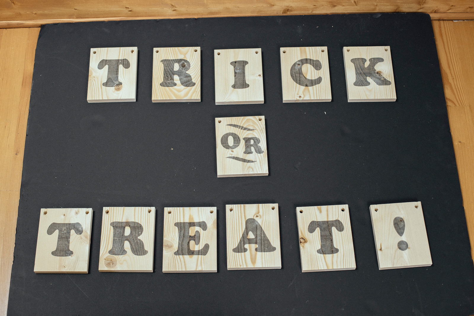 letters on wood diy