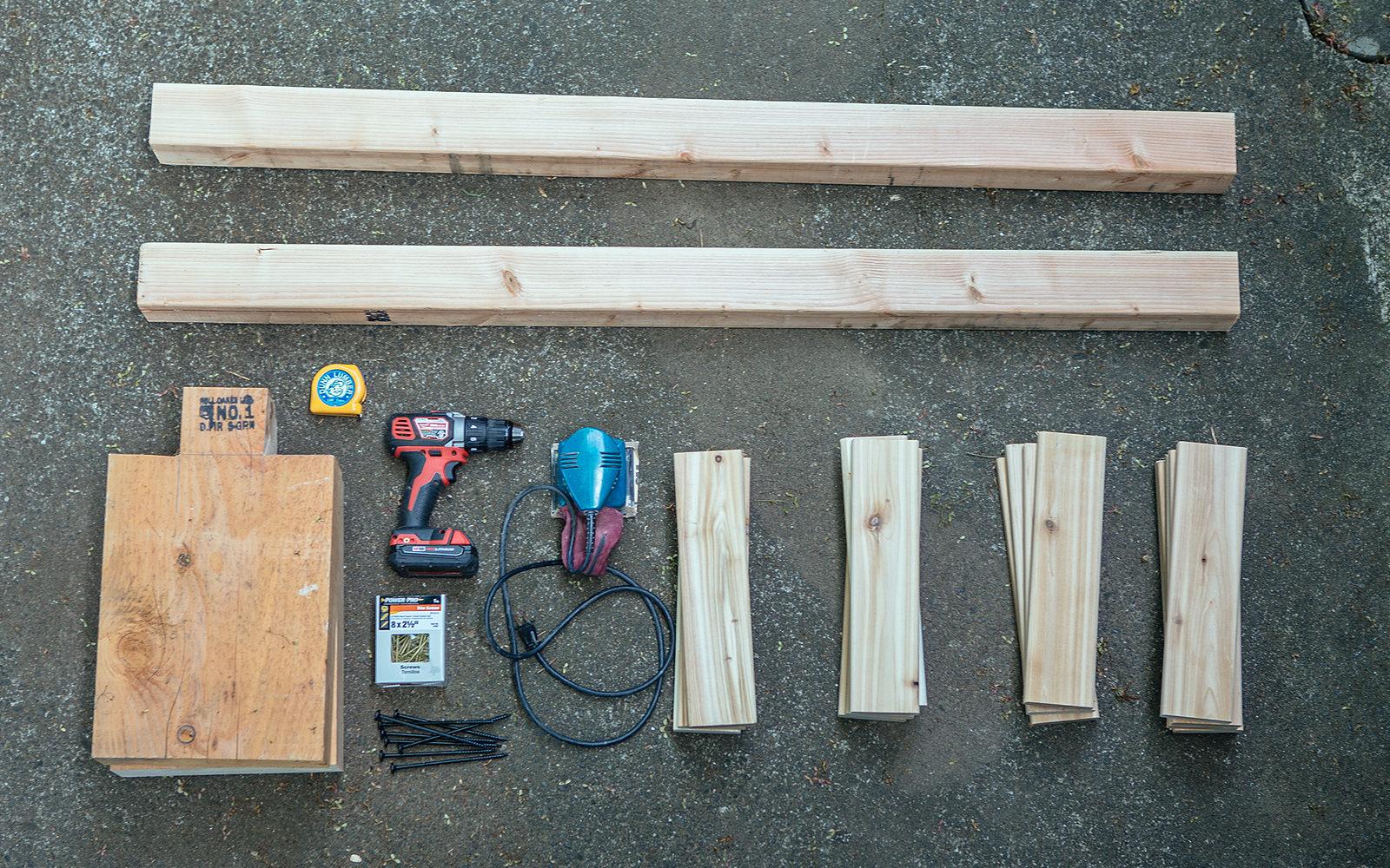 diy bench tools