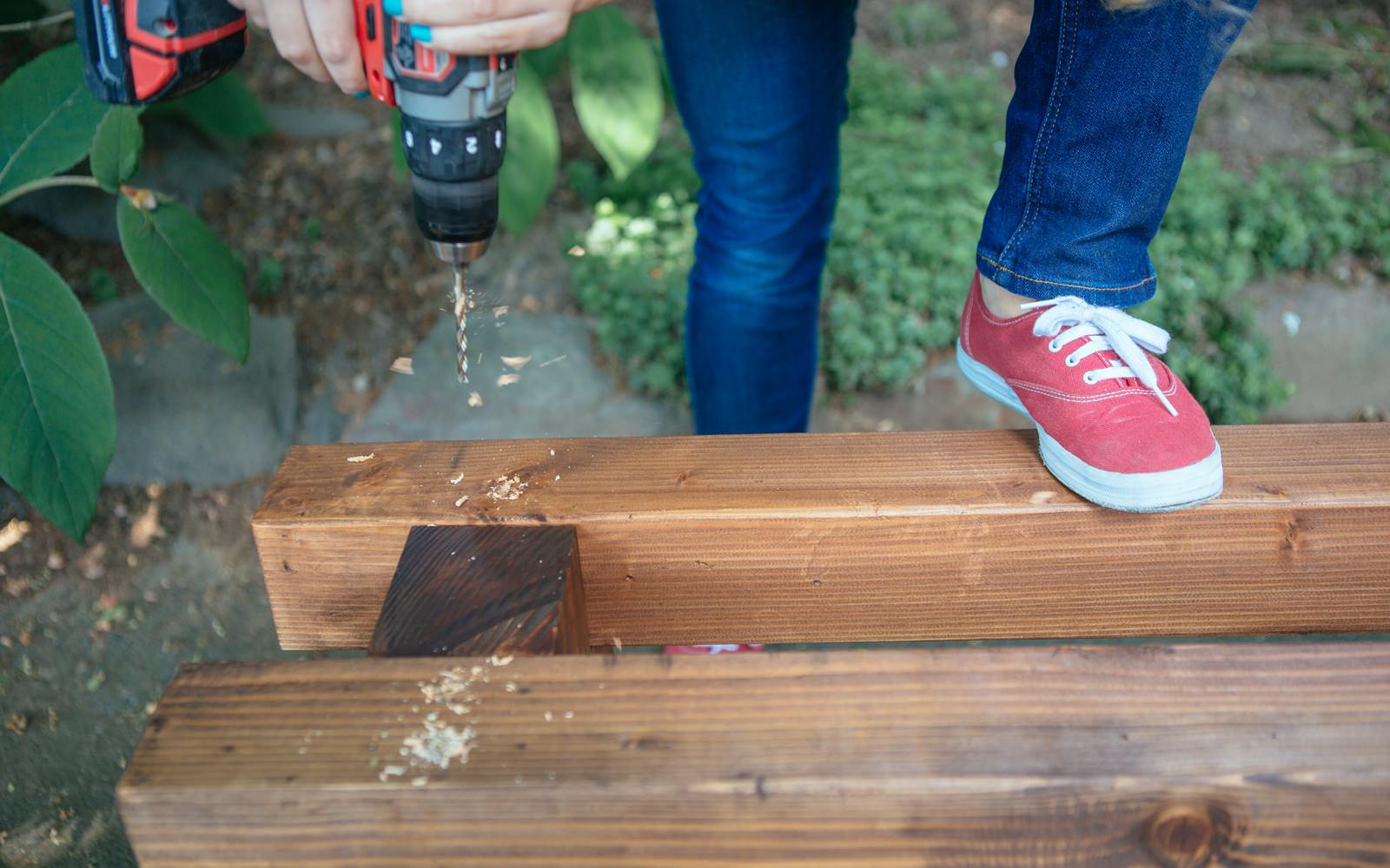 drilling bench
