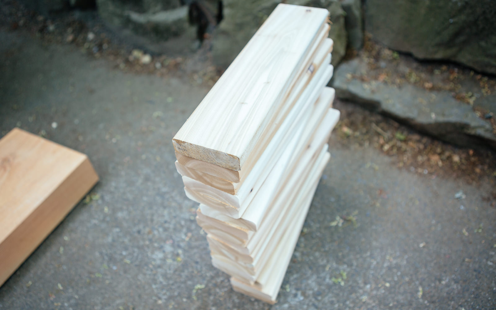 wood for diy bench