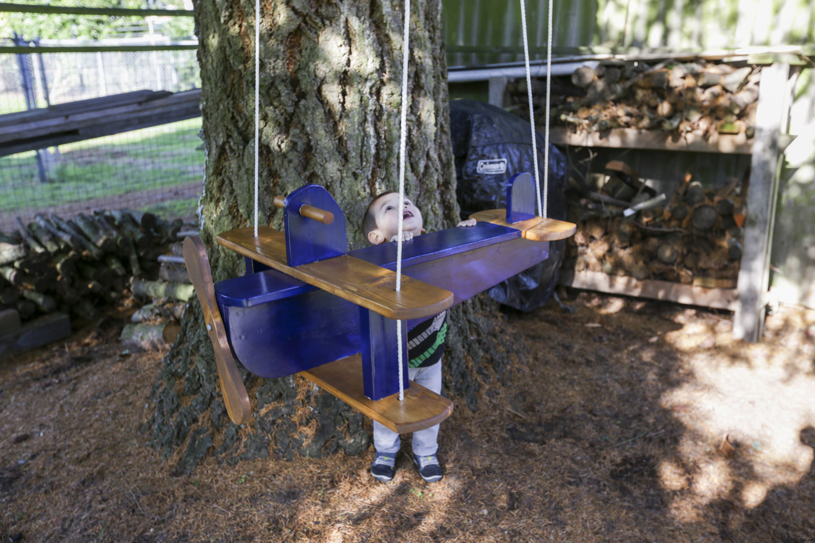 airplane swing for kids