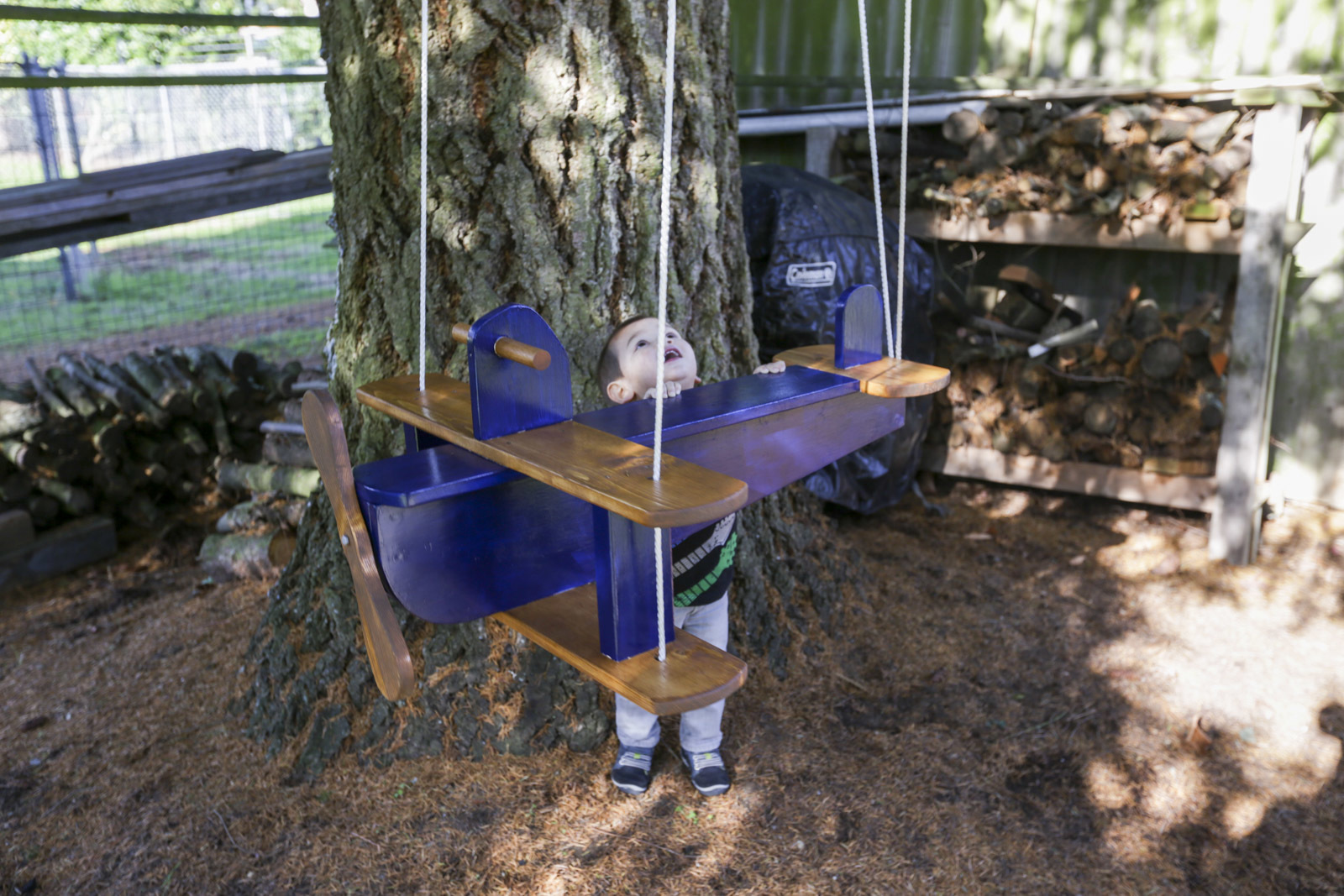 how to make an airplane swing DIY project for kids
