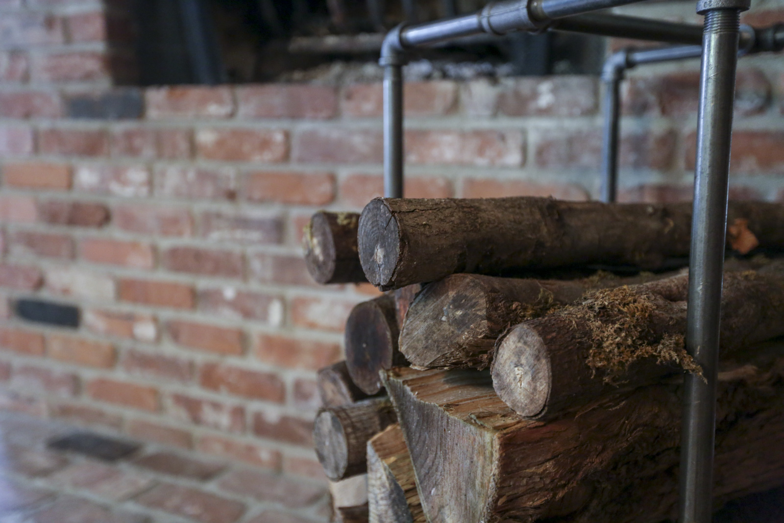 how to build your own firewood rack