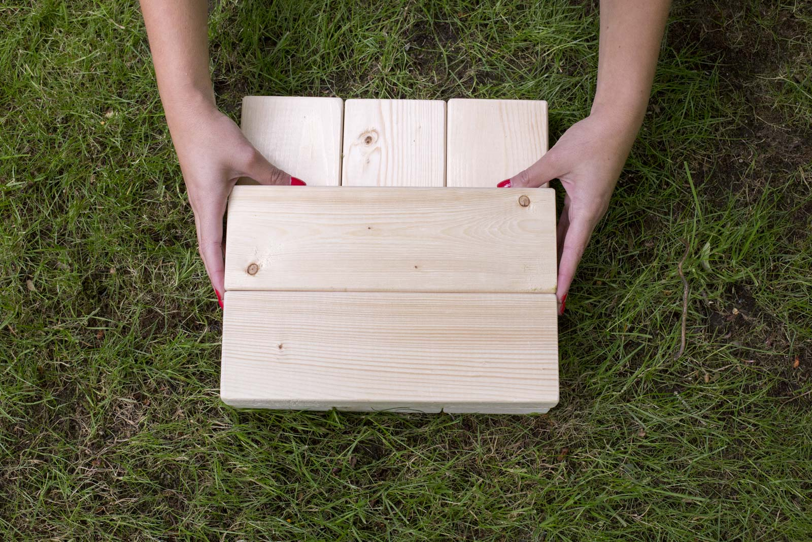 diy outdoor jenga