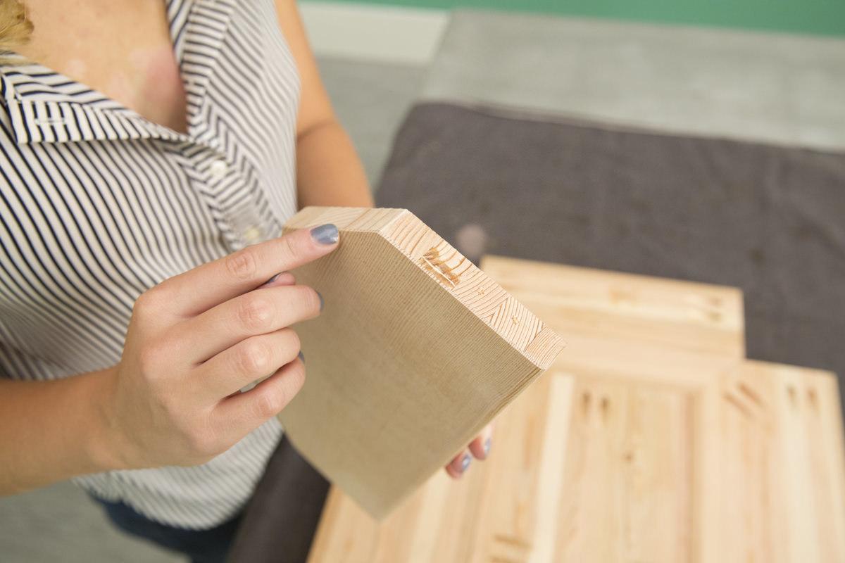 Rainier plank wood