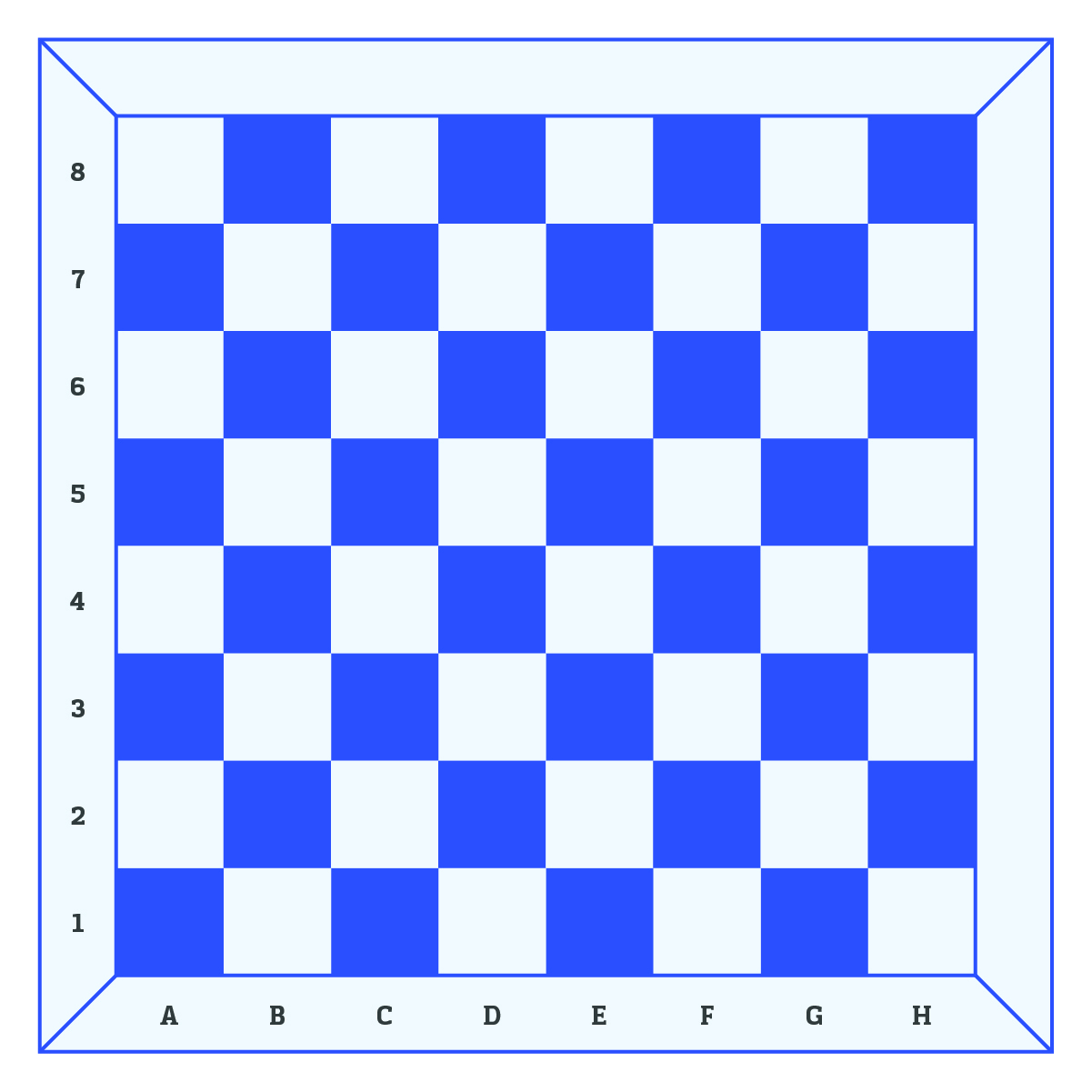 chess board diagram