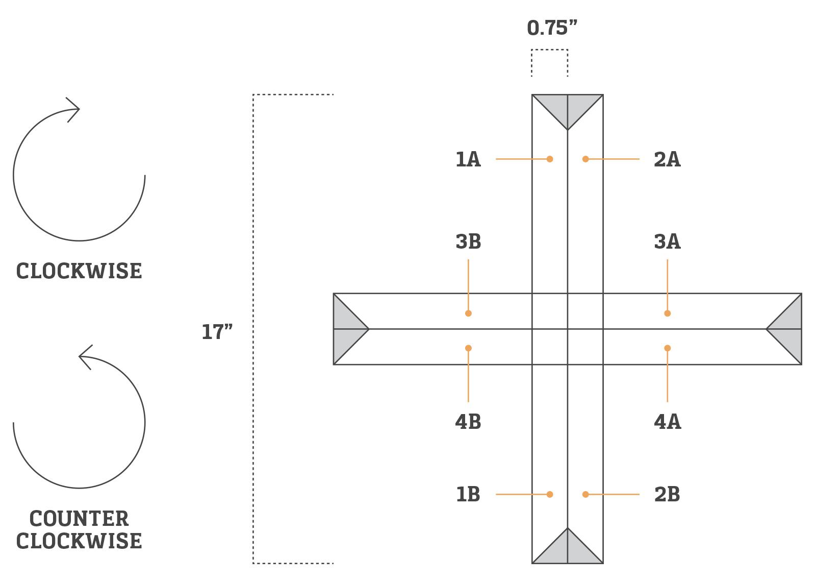 danish paper star instructions