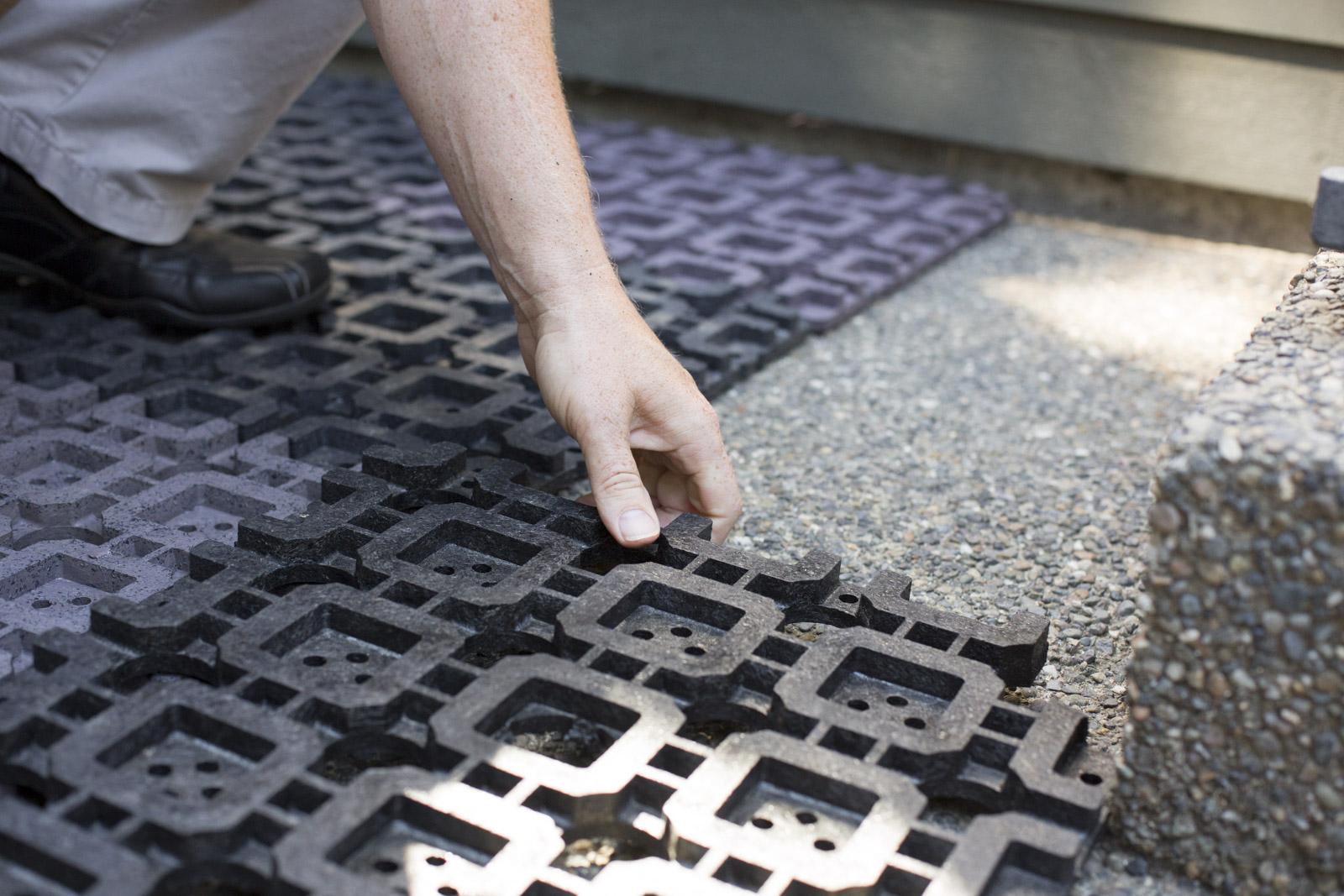 installing azek paver grid